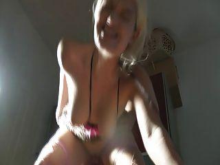 Blond German Girl Get Creampied