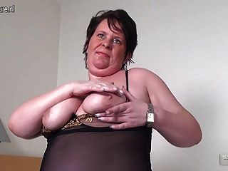 Big Fat Granny Hungry For A Good Fuck
