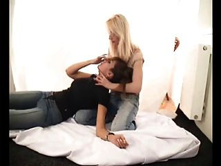 Hands Smother Fetish Lesbians Strangle Domination Demo
