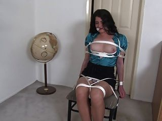 News Babe Tied To A Chair