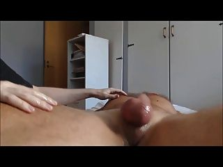 Me Edging Wellhung Hairy Veiny Stud - Post Cum Teasing