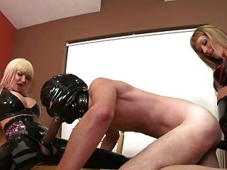 Pounded By Two Blondes