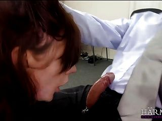 Applicant secretary job fisted and anal fucked for the job 10