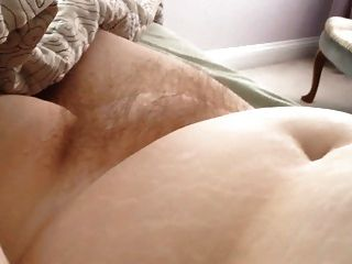 Rubbing The Wifes Hairy Pussy, Soft Belly, Soft Tits.