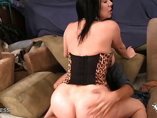 Sexy Big Tiity Brunette Begs For A Big Cock