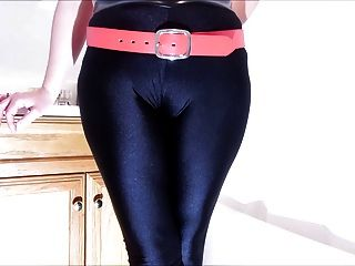 Spandex Angel - Cumming On My Spandex