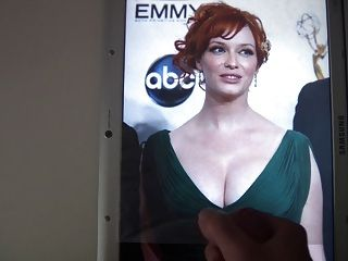 Cum On Christina Hendricks 2
