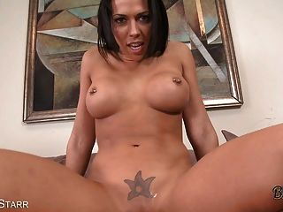 Busty Babe With Big Ass Gets Facial In Pov Scene