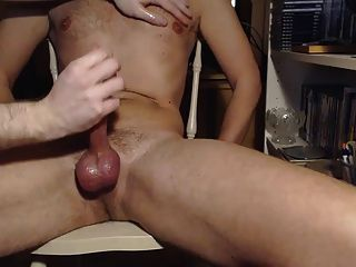 Me Milking Hung Musician Hunk - Nipple Play