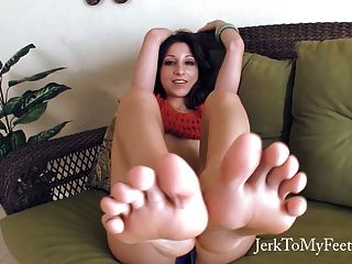 Cum On My Feet - Foot Fetish