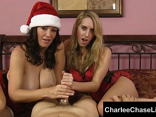 Big Tit Tampa Milf Charlee Chase Gives Santa A Helping Hand!