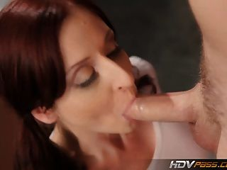 Hdvpass Pigtailed Paris Kennedy Sucks Off A Hard Cock