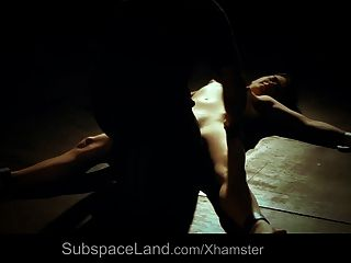 Young Slut Subjected With A Hard Spank And Fuck