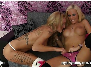 Hot German Lesbians Give Pleasure
