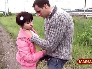Magma Film German Amateur Couple Fucking In Public