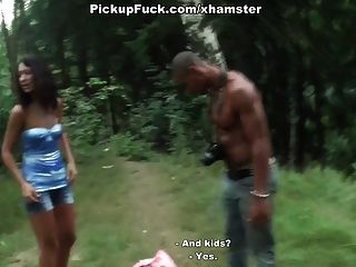 Showed Pussy And Suck Dick In The Woods For $ 76