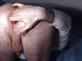 Fucking My Asshole With A Big Eggplant, Great Gape 05.2012