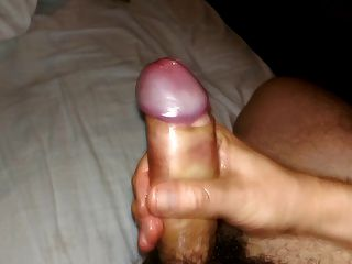 Uncut Cock Wank And Cum