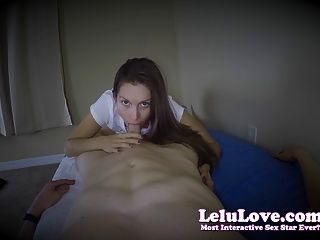 Lelu Love-pov Bj Riding Doggystyle Creampie