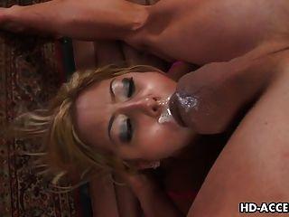 Hardcore Slut Kat Mouthful Of Cock!