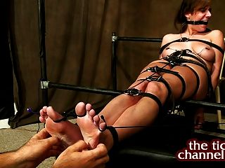 Bondage tickle women sole fetish tube