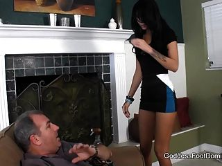 Maid Shows Perverted Client Who Is Boss