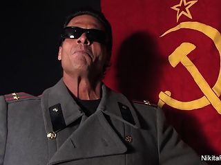 Russian Kosmonaut Nikita Gets A Hardcore Gag Order