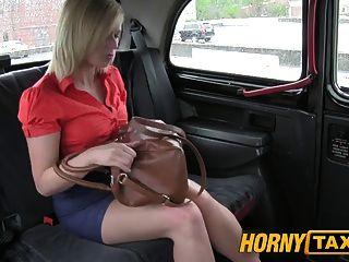 Hornytaxi Red Hot Milf Gets Fucked Hard