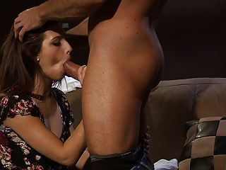 Young Natural Brunette Licked And Fucked