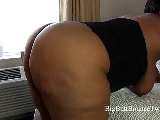 Huge Ebony Butt Shake