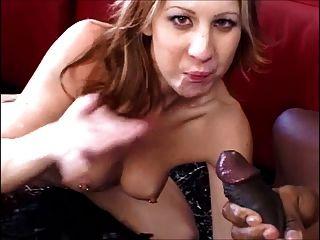 Hot Pierced Nips Babe Sucking A Nice Bbc