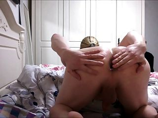 Fucking Myself, Cumming On A Dildo And Putting It Back In
