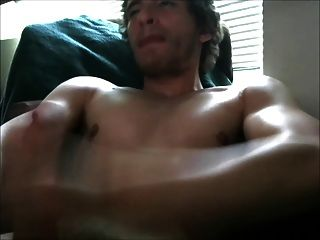 Young White Stud With Big Cock