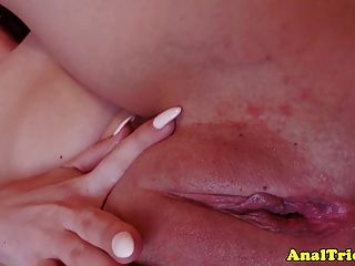Anal Loving Girlfriend Gets Facial Cumshot