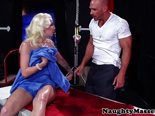 Stevie Shae And Her Masseur Switch Places