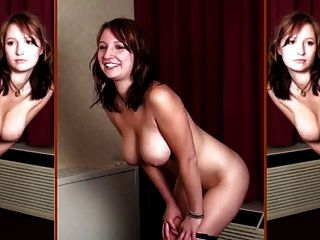 Busty Sara-topless Photoshoot