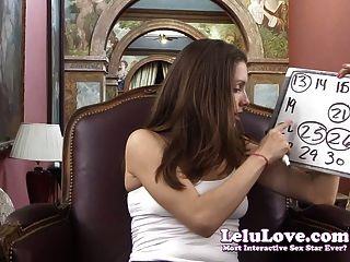 Lelu Love-your Masturbation Cum Schedule