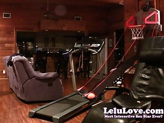 Lelu Love-strip Basketball Pussy Eating