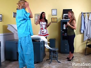 Dd Doctor! Puma Swede With Nicole Aniston + Jessica Jaymes!