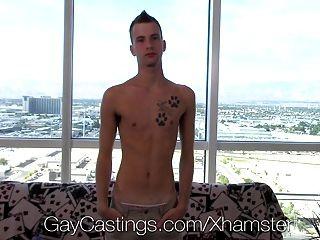 Hd - Gaycastings Lean Dancer With Big Dick Plays Bottom