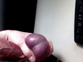 Jerking Again With Cumshot!