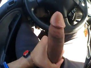 Big cock park jerk vid