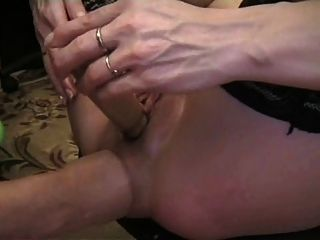 German Amateur Anal Fisting