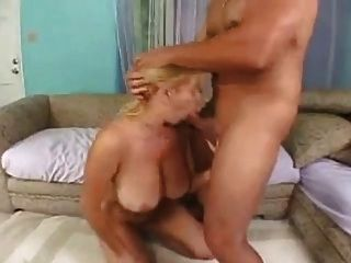 Blonde With Huge Natural Boobs Suck Dick & Fucking.
