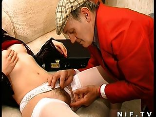 French Swingers In A Group Sex Party With Papy Voyeur