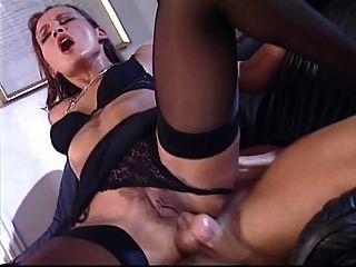 Delightful Brunette Madalina