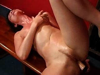 Short Haired Mature Anal Playing 2