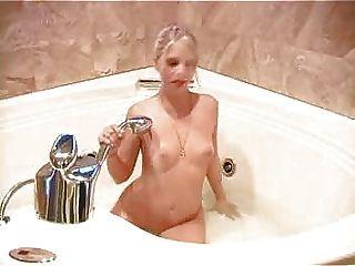 Beautiful Blonde Bathtime