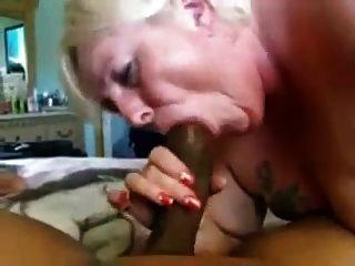 Fat Granny Sucks Big Cock