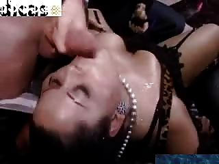 Bbw Ebony Lady Takes On Horny Guys